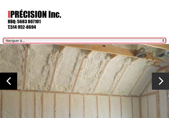 project to create optimized and efficient website designing for a company building insulation of any kind in Montreal and South Shore